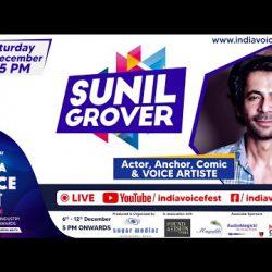 Sunil Grover at India Voice Fest 2020